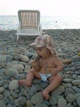 Съем камушек, запью морской водичкой...