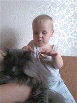 Андрюша с Васей.