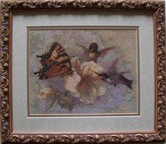 Бабочка и колибри