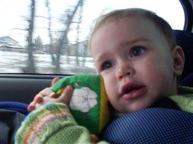 В автокресле и с любимой игрушкой  хоть на край света!