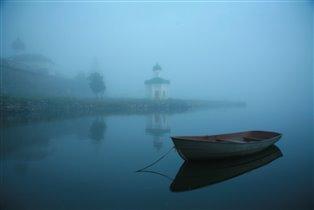 туман в сумерках