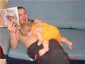 Ну как, папа, - какой ты на вкус?)))))