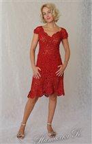 Платье 'Соблазн' связано на заказ