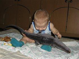 крокодил - это вкусно