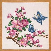 076_Цветы и бабочки