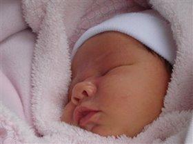 новорожденная Юленька
