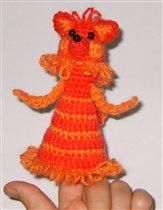 Пальчиковая кукла Лиса