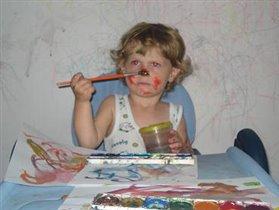 Маленький художник)))