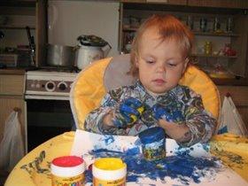 Юная художница