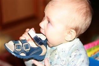 Первые сандалики