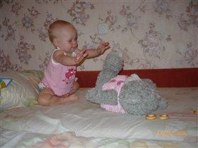Сейчас я тебя, мой дорогой миша, зацелую!!!