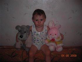 Две игрушки и Андрюшка