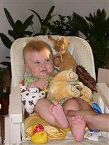 Любимые игрушки малыша!!!