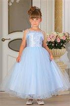 Платье МЛ 683-112 голубое