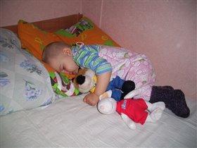 Два любимца для сладкого сна