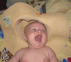Мама, смотри какая у меня шляпа!!