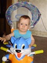 Илья и его лисенок-велосипед
