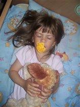 вот так мы спим!!!!!