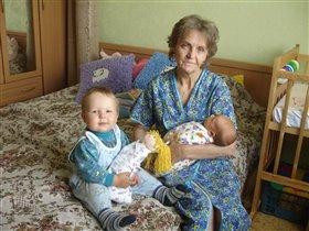 МЫ с бабой и наши 'ляли'