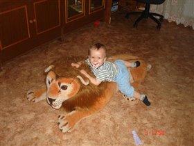 Любимый лев!!!! Егора