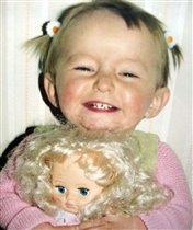 Ура!!!Подарили куклу!!!