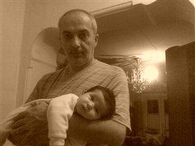 лиза с дедушкой