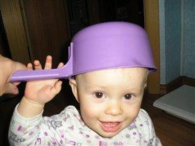 У меня красивая шляпка, не правда ли!!!!!!