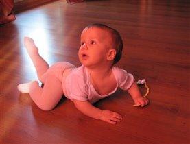 Балерина растет