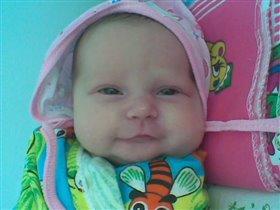 Наша первая улыбка :)