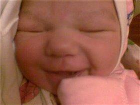 Самая первая улыбка!
