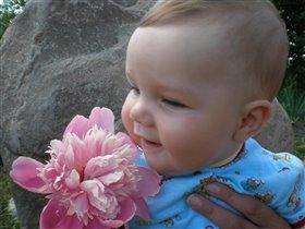 Подарю цветочек и улыбку...