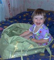 Катюша - веселая путешественница!!!