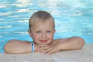 наконец-то научился плавать;)