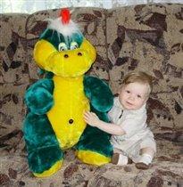 Самая первая и самая любимая игрушка.