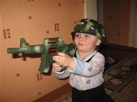 Я настоящий солдат!