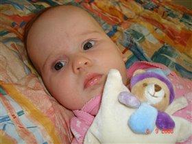 Мой маленький мишка и я - малышка)))