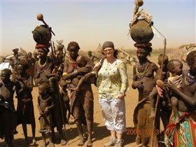 Десаныч - 'племя пыльных людей', долина реки Омо
