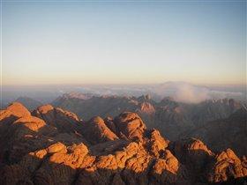 Гора Моисея на Синае - встречаем рассвет