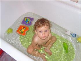 принимаем ванну