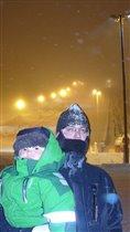 Замороженный папа :)
