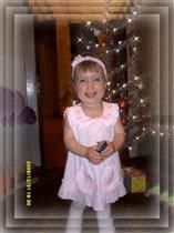 Первая елочка у моей принцессы)))