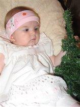 маленькая елочка для маленькой Никульки