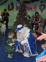 а Дед Мороз Стасене дал кафетку :)