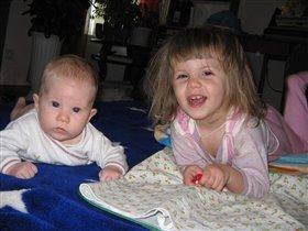 сестренки!