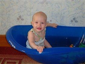 А мы в ванночке не только купаемся!!!