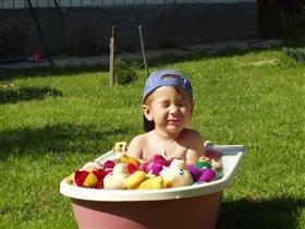 Совмещаем солнечные ванны и водные!