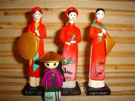 Вьетнамские красавицы