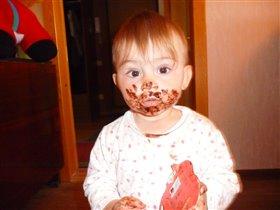 А конфетка то вкусная!