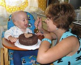 Один тортик ерунда, любим сладкое всегда