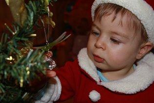 Санта за работой